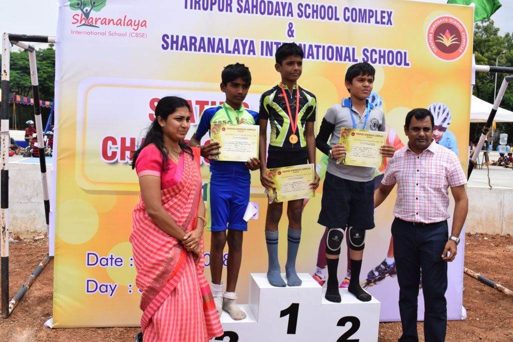 Inter - school Skating competition