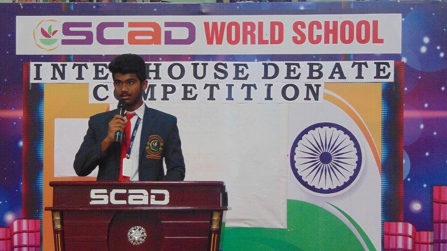 INTER HOUSE DEBATE COMPETITION