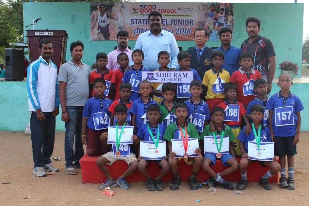 SCAD - State Level Junior Athletic Meet