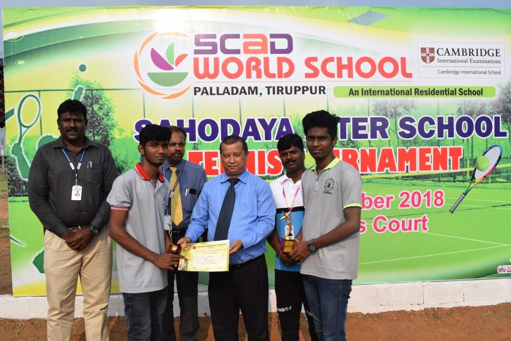 Interschool Sahodhaya Tennis Tournament – 2018