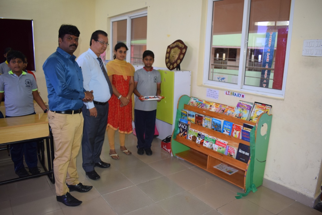 Inauguration of Class Room Library