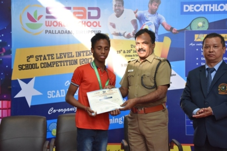 2nd State Level Swimming and Tennis Competition