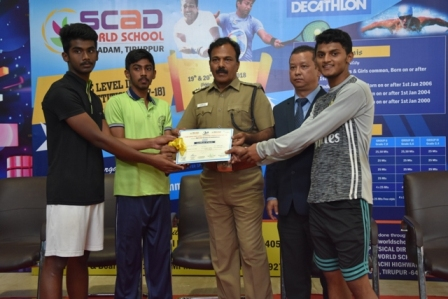 Second State Level Swimming and Tennis Competition