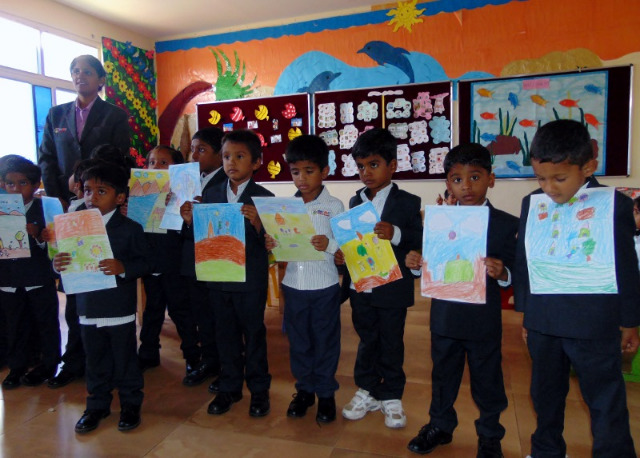 SCAD Kids - Art Competition conducted by ICICI Bank | Photo
