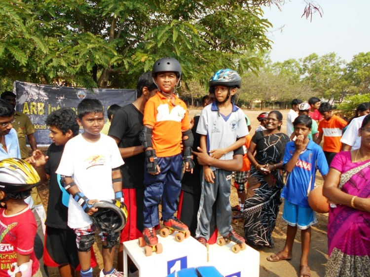 4th District Level Road Race Skating Championship 2014