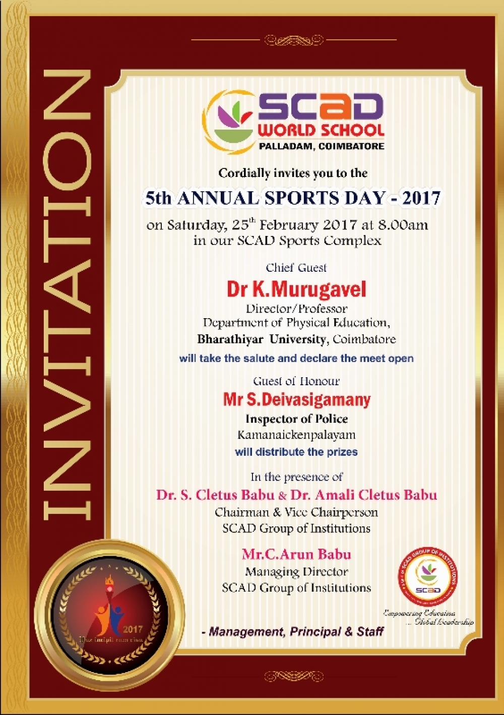 5th Annual Sports Day