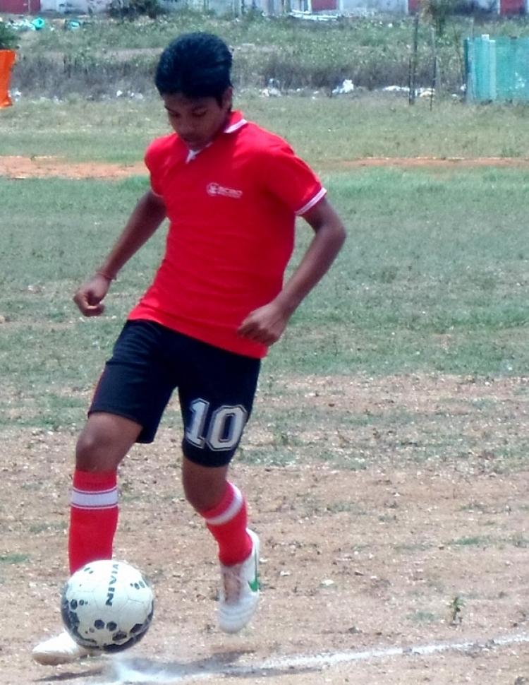 Inter House Football Tournament 2014