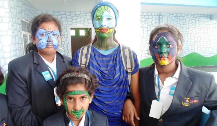 SCAD World School Children Shine  - Art Fest