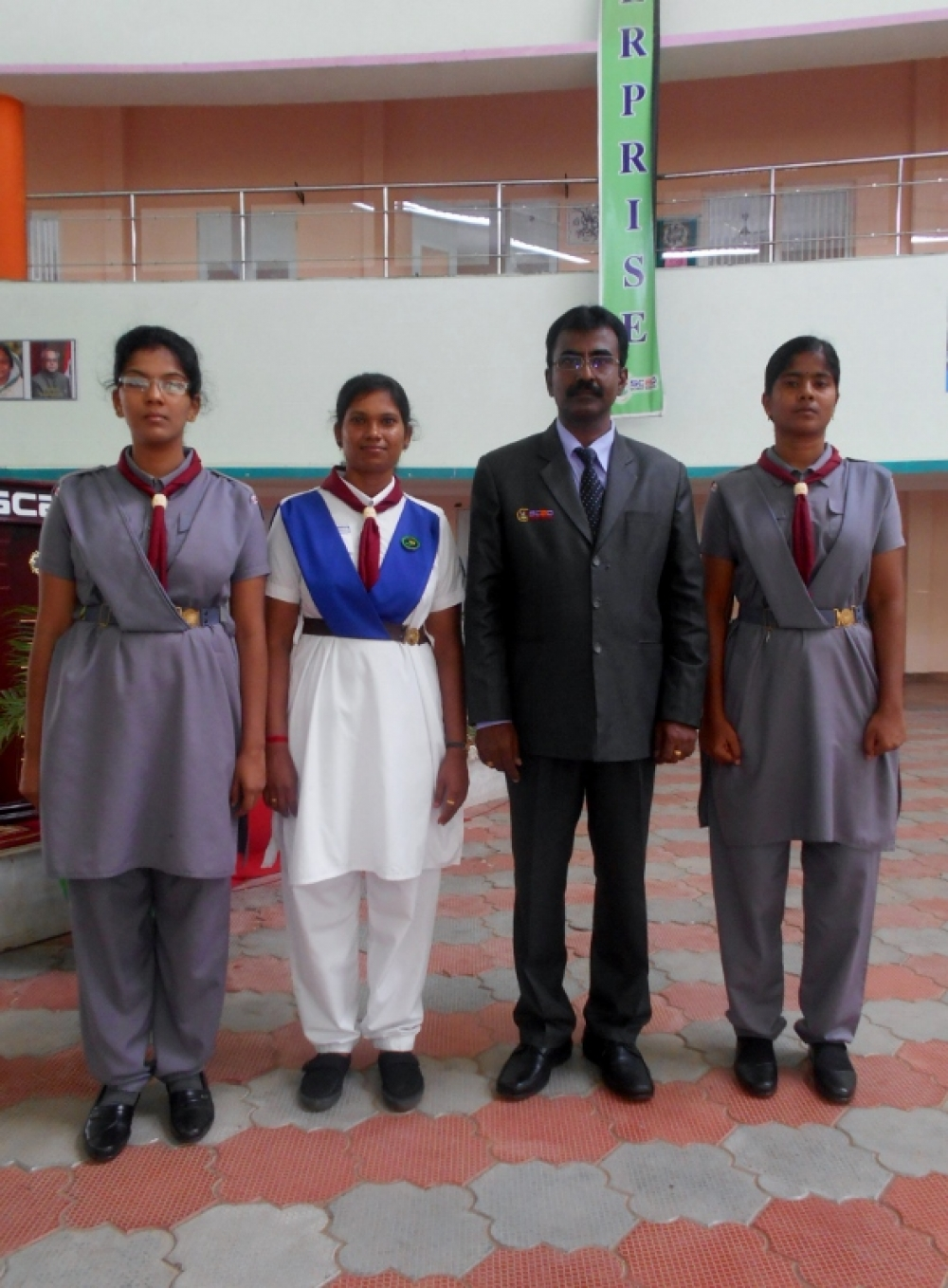 THE BHARATH SCOUTS AND GUIDES