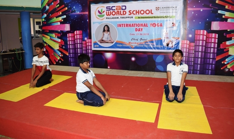 International Yoga day - 2018